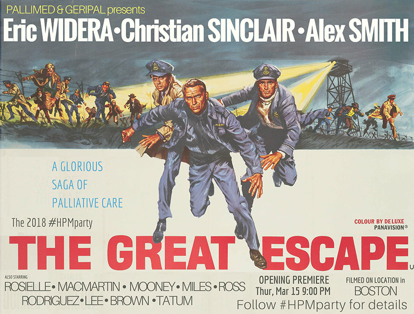 Retro Poster For The Great Escape Event
