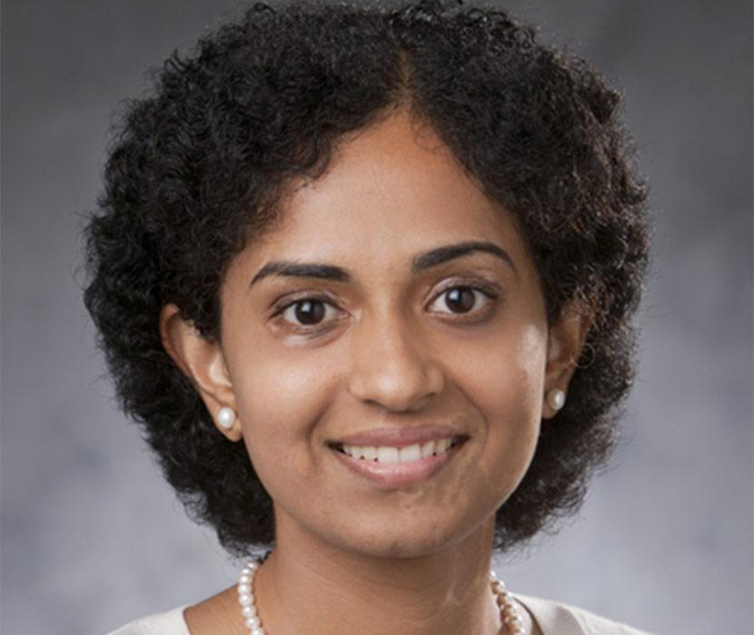 Headshot Of Meera Balasubramaniam