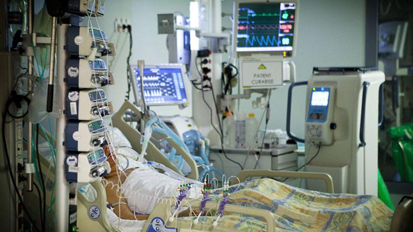Photo Of Patient In ICU Room