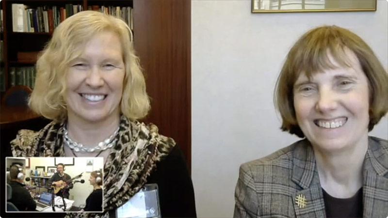 Headshots Of Susan Tolle And Elizabeth Eckstrom