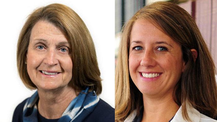 Headshots Of Regina Fink And Stacy Fischer