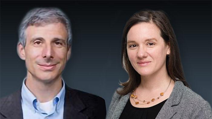 Headshots Of Mike Steinman And Francesca Nicosia