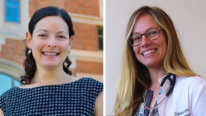 Headshots Of Julia Adler-Milstein And Stephanie Rogers