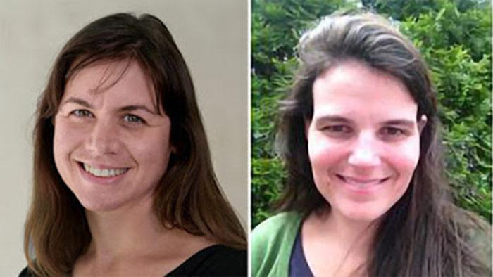 Headshots Of Elizabeth Luth And Lauren Hunt