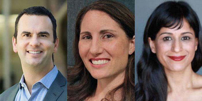 Headshots Of Brian Block, Sunita Puri And Denise Barchas