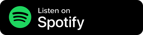 Spotify Button - Black Background With Icon And White Sans-serif Type
