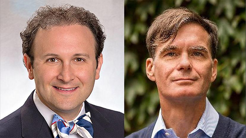 Headshots Of Aaron Kesselheim And Jason Karlawish