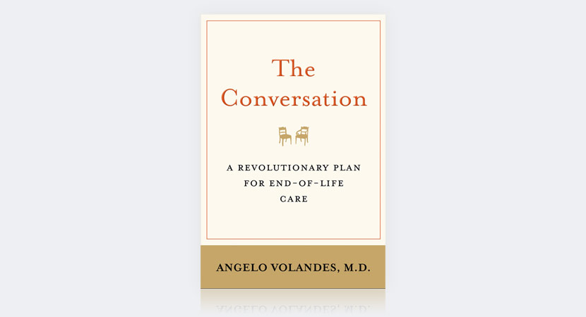"""Cover Of The Book """"The Conversation"""" By Angelo Volandes"""
