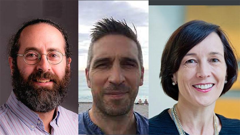Headshots of Benzi Kluger, Edward Richfield, and Christine Ritchie