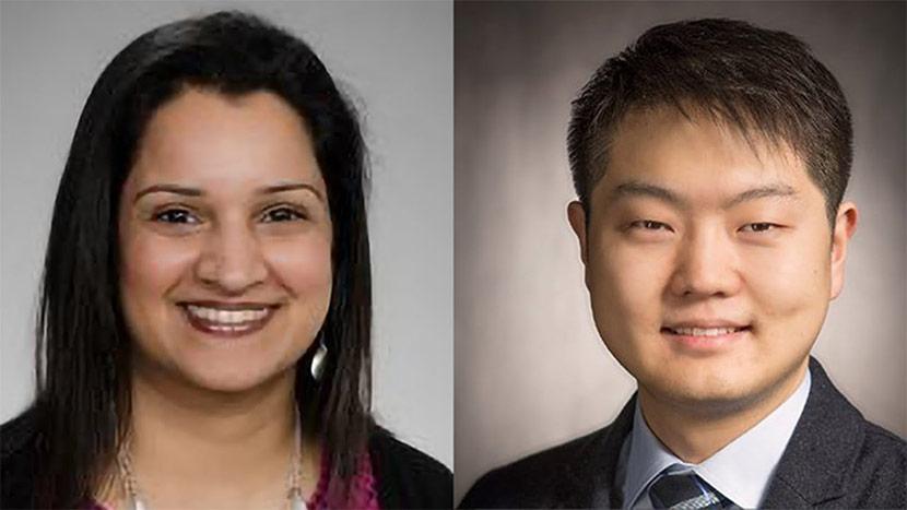 Headshots Of Rashmi Sharma And Zhi Jia