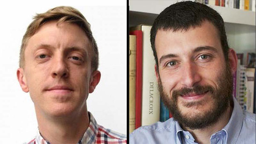 Headshot Of Tim Anderson And Marco Canevelli